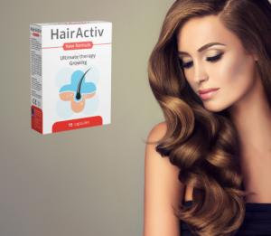 HairActiv capsule, ingrediente, compoziţie, cum să o ia, cum functioneazã, efecte secundare, contraindicații, prospect